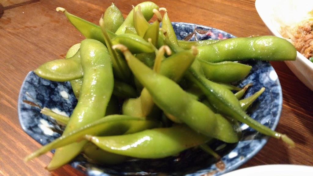 肉汁水餃子 餃包の枝豆
