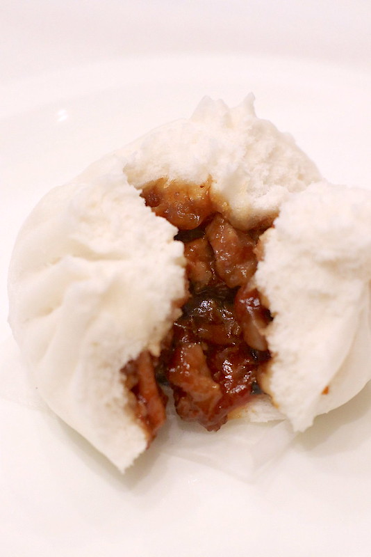 Osmanthus-flavoured Char Siew Bao