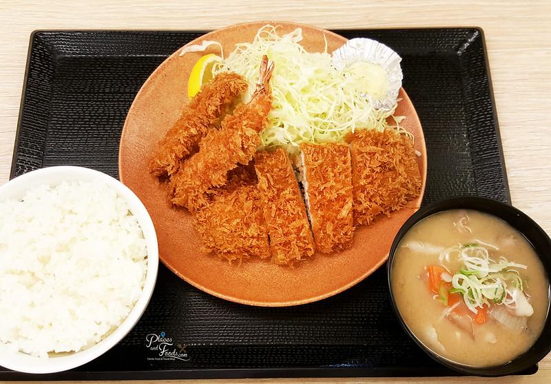 Katsuya Akihabara Tokyo pork and shrimp