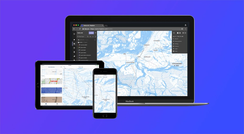 Mapbox Studio Preview on Devices