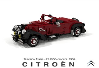Citroen Traction Avant 22CV Cabriolet - 1934