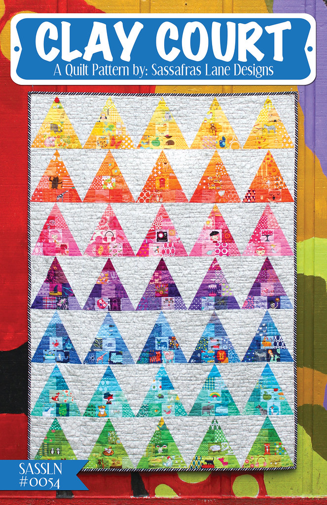 Clay Court Quilt Pattern