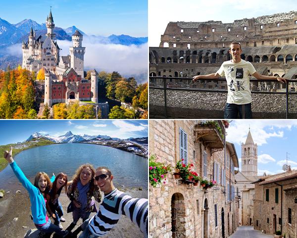 Ruta de 21 días por Europa y sus lugares más espectaculares