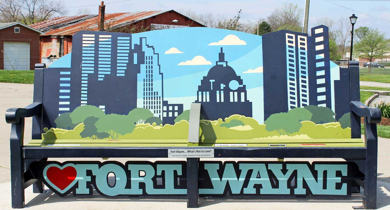 The Weekend Getaway You've Overlooked: Visit Fort Wayne, Indiana [via Wading in Big Shoes] // Located equidistantly from Chicago, Cincinnati, and Detroit, Fort Wayne, Indiana is a fun midwest destination that captures a perfect blend of city, nature, and local flavors! See what I experienced on my trip to Fort Wayne and learn what makes Indiana's second-largest city the perfect spot for a weekend getaway.