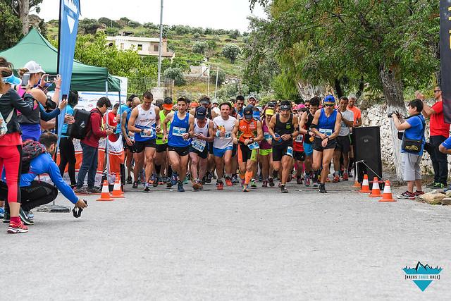 Η εκκίνηση του Apollon Race 25K, του μεγάλου αγώνα της διοργάνωσης!