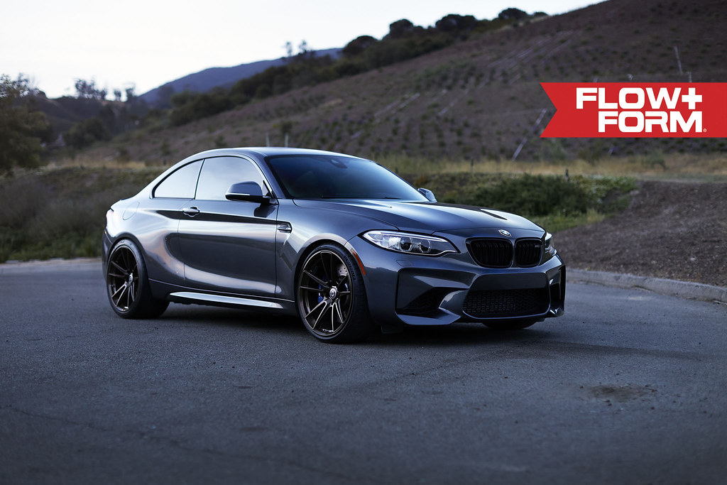 Hre Wheels Bmw M2 With Flowform Ff04 Wheels Installed