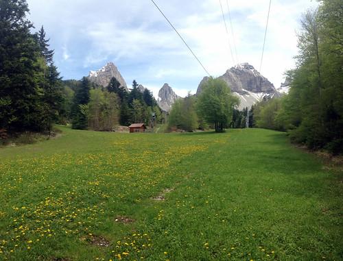 Pistes de ski de la Jarjatte