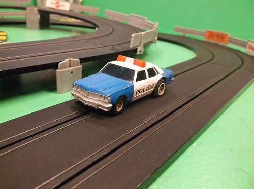 Matchbox Race and Chase Police car