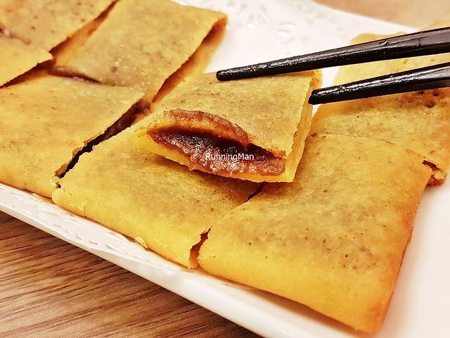 Pan-Fried Pancake With Red Bean Paste