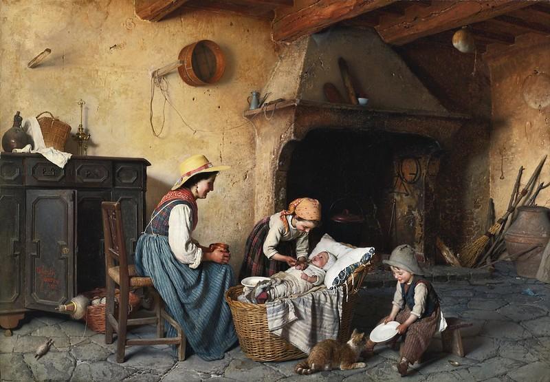 Gaetano Chierici - Italian la pappa