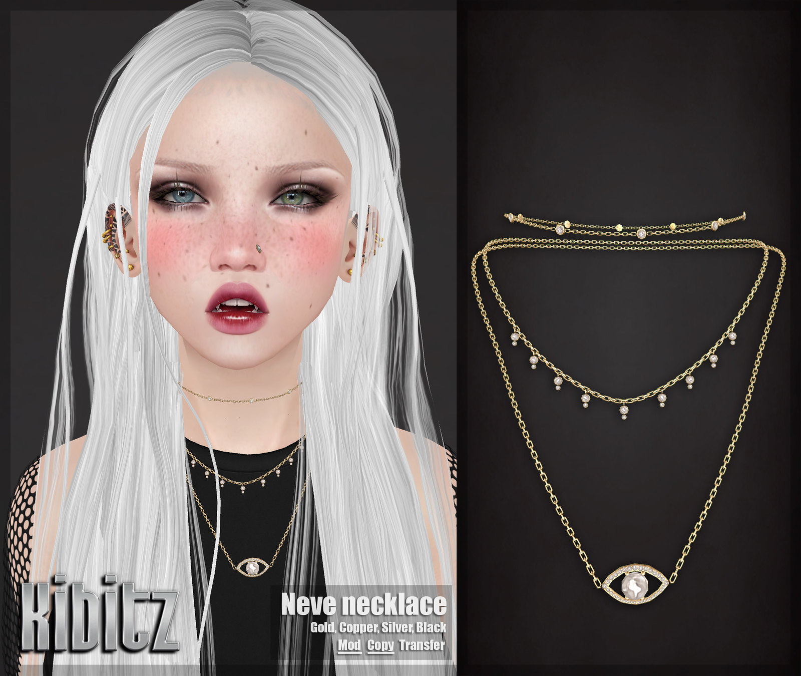 kibitz neve necklace