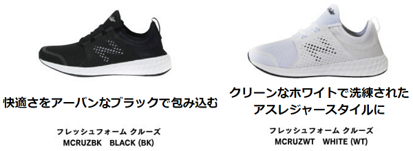 ABCマートの「new balance FRESH FOAM CRUZ」