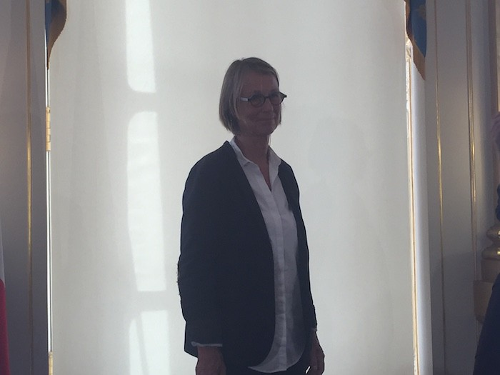 Françoise Nyssen ministre de la Culture