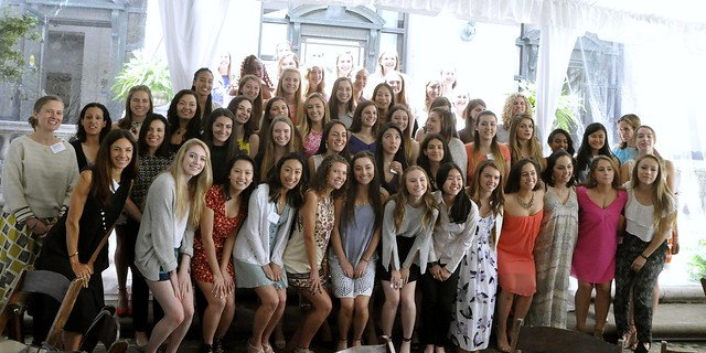 Convent Class of 2017 Alumnae Luncheon