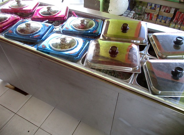 The Ruai nasi campur counter