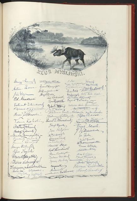 Klub Mysliwski (Hunters' Club). From Unexpected Treasures at America's Library: Heartfelt Friendship Between Nations
