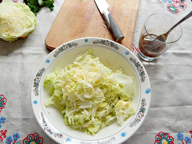 салат нарезан