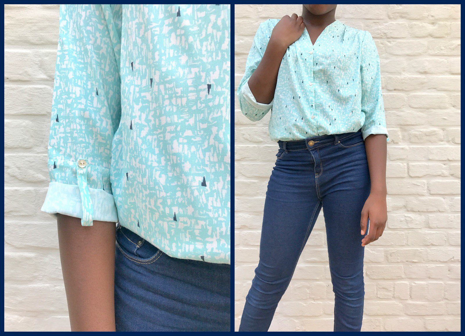 bellah blouse (collage)