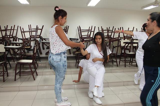 Facultad de Obstetricia y Enfermería de la USMP realizó Taller de improvisación teatral: Técnicas para la canalización de emociones.