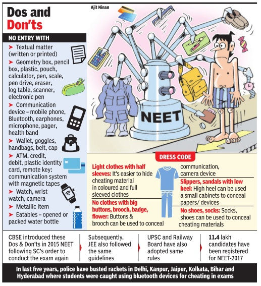 NEET Dress Code Do's and Dont's
