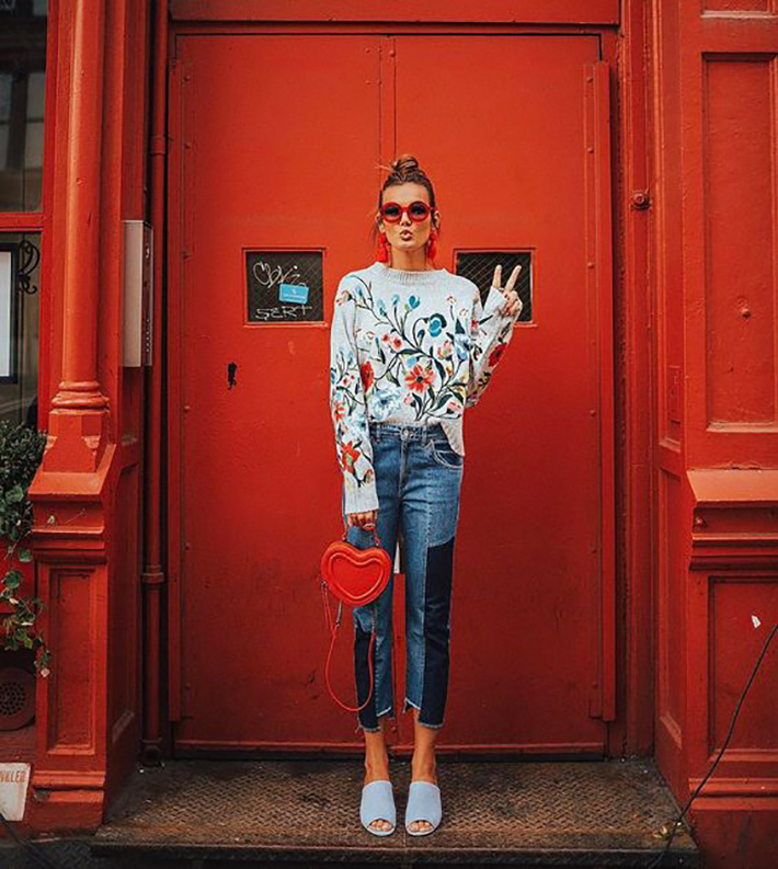 street style spring 2017 outfits inspiration accessories fashion trend style5