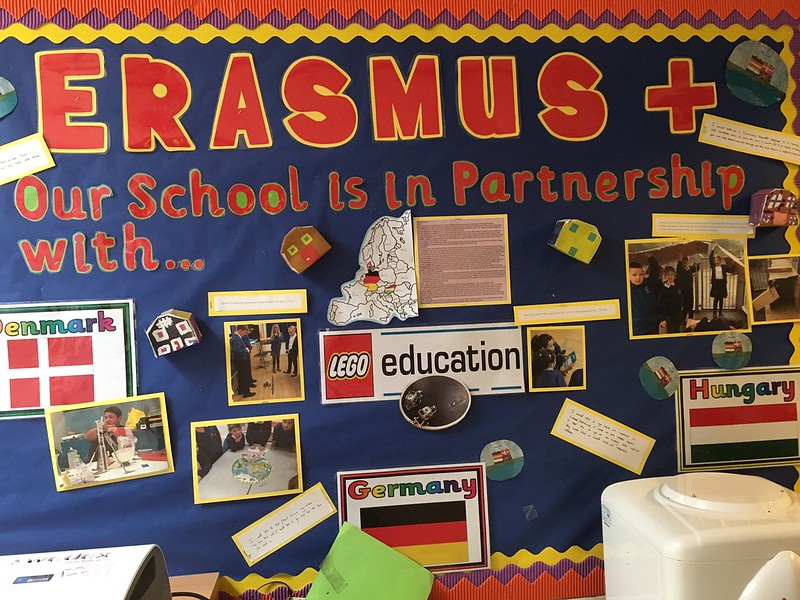 St Nicholas Primary School Erasmus+ Partners Notice Board