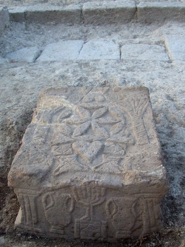 Original Magdala Stone to be Exhibited at St. Peter's Square and in the Great Synagogue of Rome