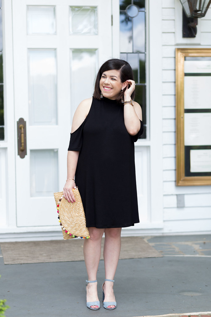 Cold Shoulder LBD-Head to Toe Chic-@headtotoechic