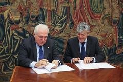 12/05/2017 - Renovación del convenio de colaboración entre BBVA y Deusto