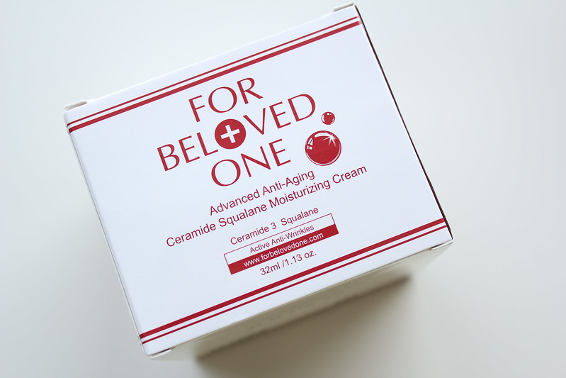 For Beloved One Advanced Anti-Aging Ceramide Squalane Moisturizing Cream review