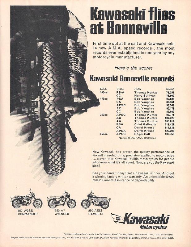 Kawasaki Bonneville 1967