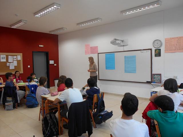 Η Στ' τάξη με την συγγραφέα Αθανασίου Έρικα