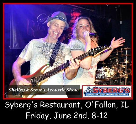 Shelley & Steve's Acoustic Show 6-2-17