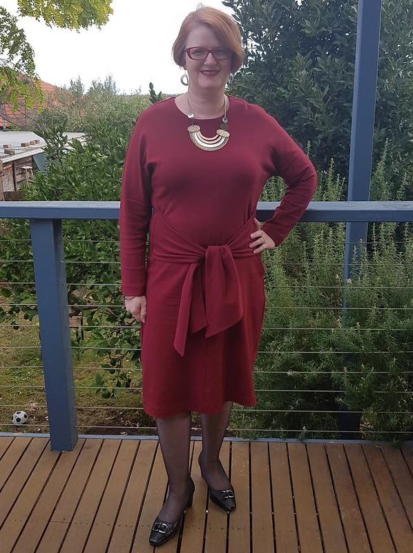 Style Arc Serena dress in ponte