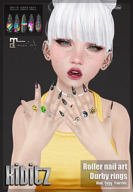 kibitz durby rings and nail art