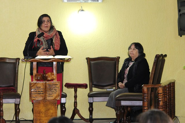 Clase de Dorcas en Presidente Bulnes-Hualpén