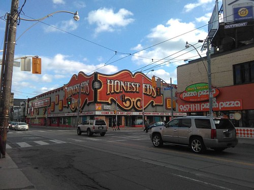 Honest Ed's from the north #toronto #honesteds #theannex #bathurststreet