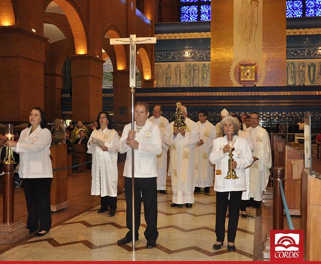 Diocese de Colatina recebe Nossa Senhora Aparecida