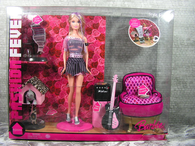 2006 Barbie Fashion Fever Style Space Playset Item nr. 114901 K3549 (10)