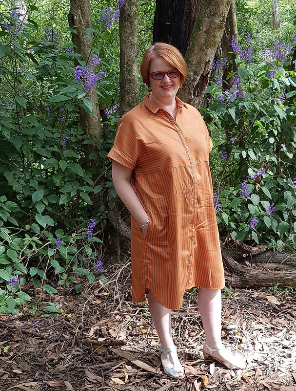 Style Arc Blaire dress in fabric from Darn Cheap Fabrics