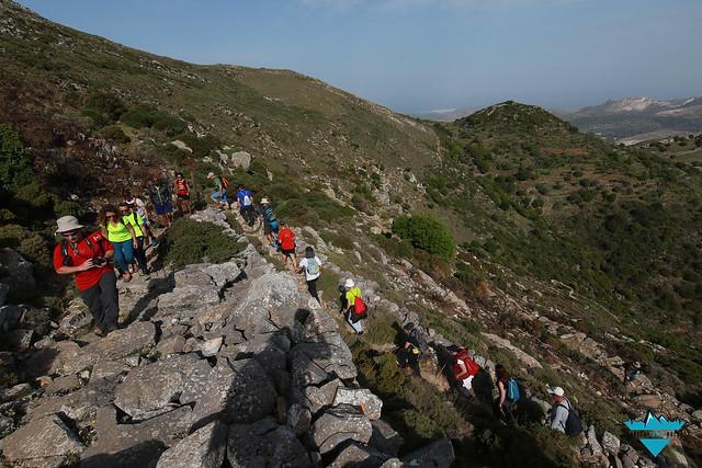 Η πεζοπορία της Πρωτομαγιάς προς την ψηλότερη κορφή του νησιού συγκέντρωσε πολύ κόσμο!