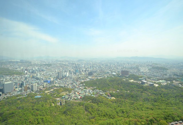 n seoul tower south korea