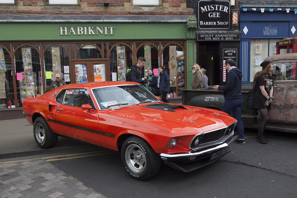 Wakefield Classic And American Car Show Mark Hooper Flickr - Classic pony car shows
