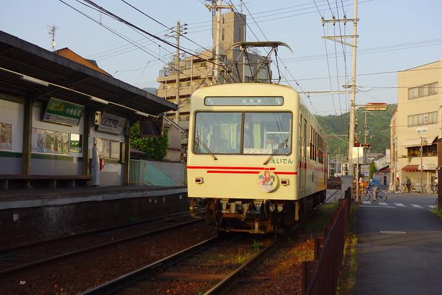 2017/05 叡山電車×きんいろモザイクPretty Days ラッピング車両 #40
