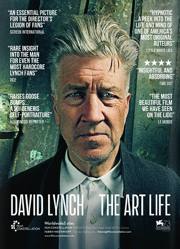 David Lynch The Art Life_海外poster