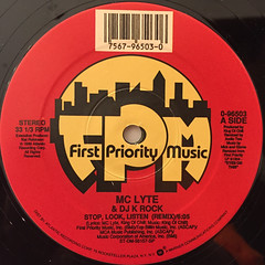 MC LYTE:STOP,LOOK,LISTEN(LABEL SIDE-A)