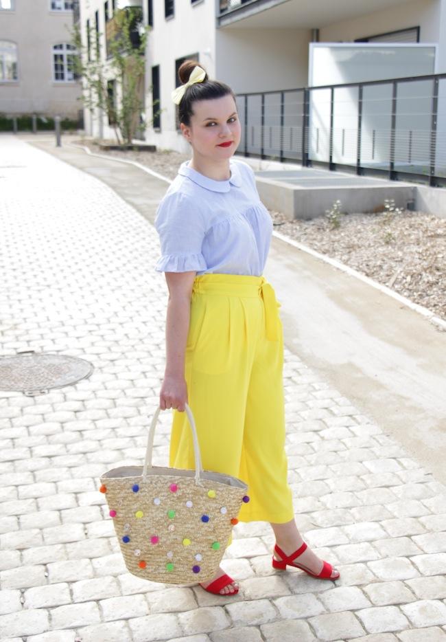 jupe_culotte_jaune_panier_pompons_conseils_blog_mode_la_rochelle_6
