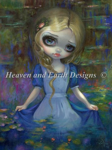 Alice in Monets Waterlillies_000a
