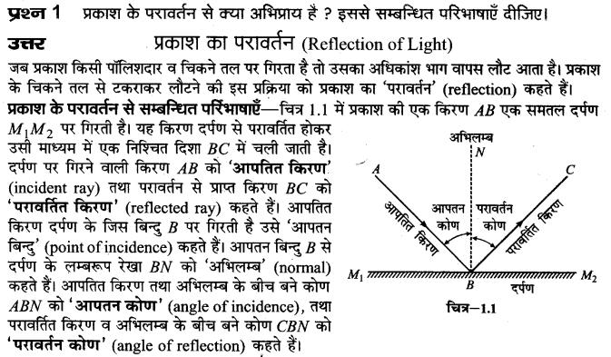 up-board-solutions-class-10-science-prakash-ka-paravartan-1