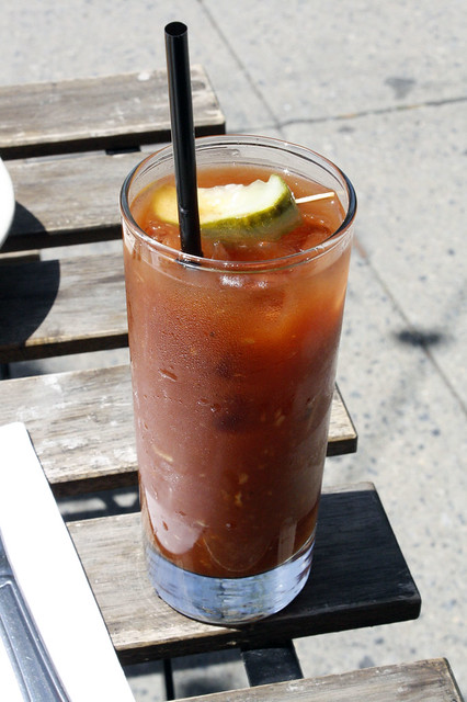 Bloody Mary at Alice's Arbor